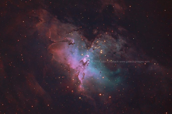 M16 Eagle Nebula, Pillars