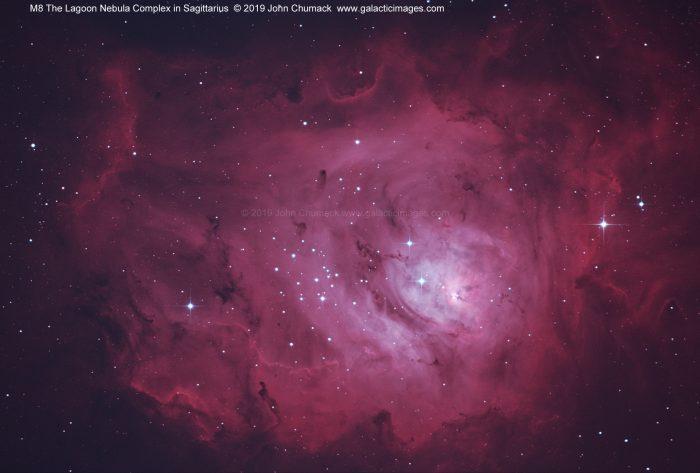 M8 The Lagoon Nebula Complex in Sagiittarius