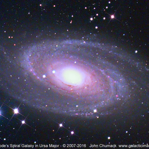 M81 Bode's Spiral
