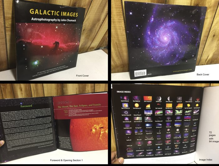 Galactic Images Coffee Table Book