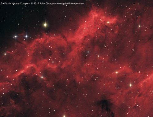 NGC1499 The California  Nebula Complex Close-up