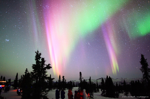 "Incredibly Colorful Aurora Borealis - ""The Northern Lights"" Streamers!"