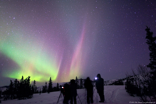 "Our Aurora - ""The Northern Lights"" Workshop shooting more Great Aurora!"