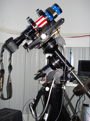 Widefield Setup w/ Canon Digital SLR or QHY CCD