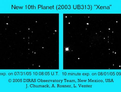 """New 10th Planet (2003 UB313) """"Xena"""""""