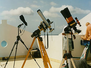 My Total Solar Eclipse Chasers Rig, 1998 Aruba