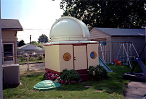 Homemade Backyard Observatory in Dayton