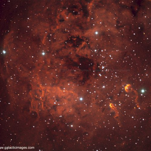 IC410 The Tadpoles Nebula Complex