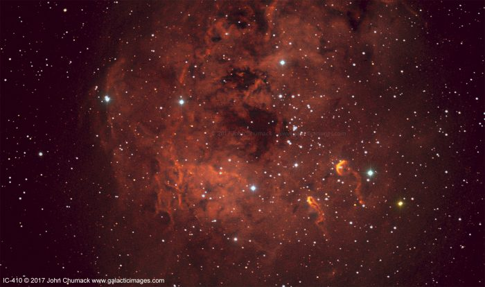 IC410 The Tadpoles Nebula Complex