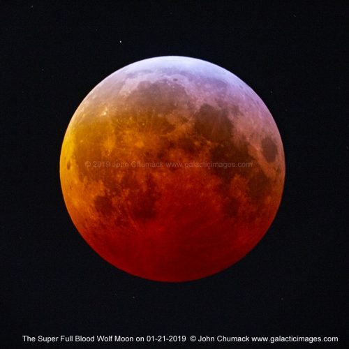 The Super Full Blood Wolf Moon _Lunar Eclipse Totality 2019