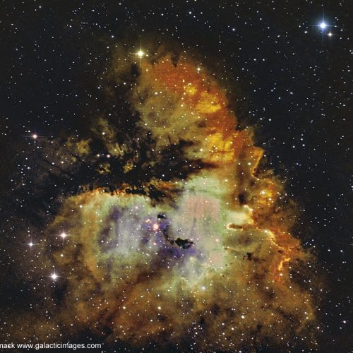 The Pacman Nebula NGC-281