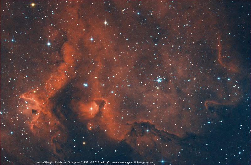 The Head of the Soul Nebula Complex - SH2-199
