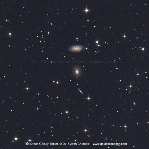 The Draco Galaxy Triplet