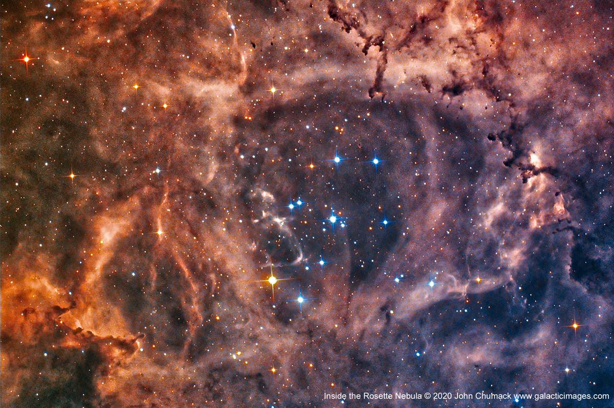 Inside the Rosette Nebula