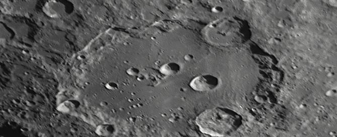 """Clavius Crater- One of the Largest & Oldest Impact Craters"""