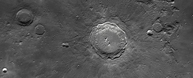 Copernicus Impact Crater