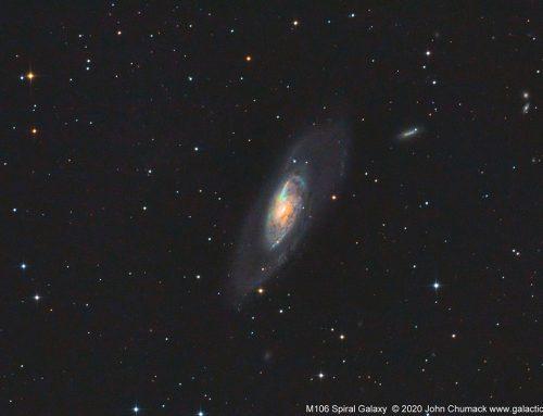 M106 Spiral Galaxy – Water Maser