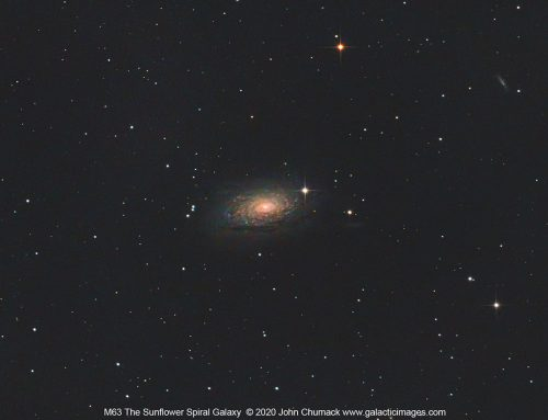 M63 The Sunflower Spiral Galaxy