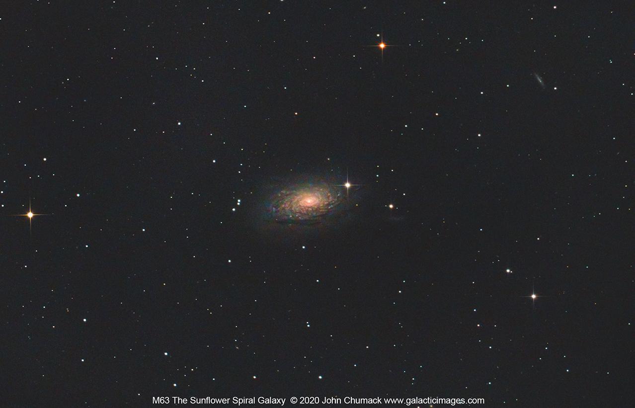 "M63 The Sunflower Galaxy"""