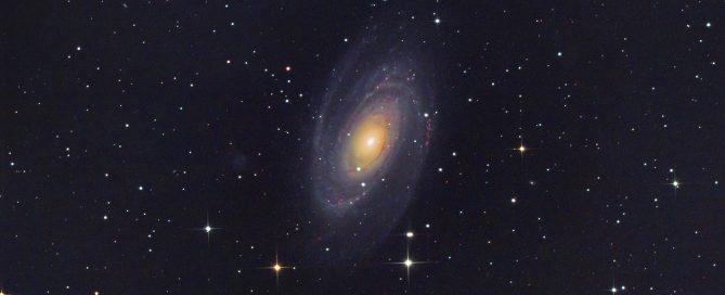 M81 Bode's Spiral Galaxy