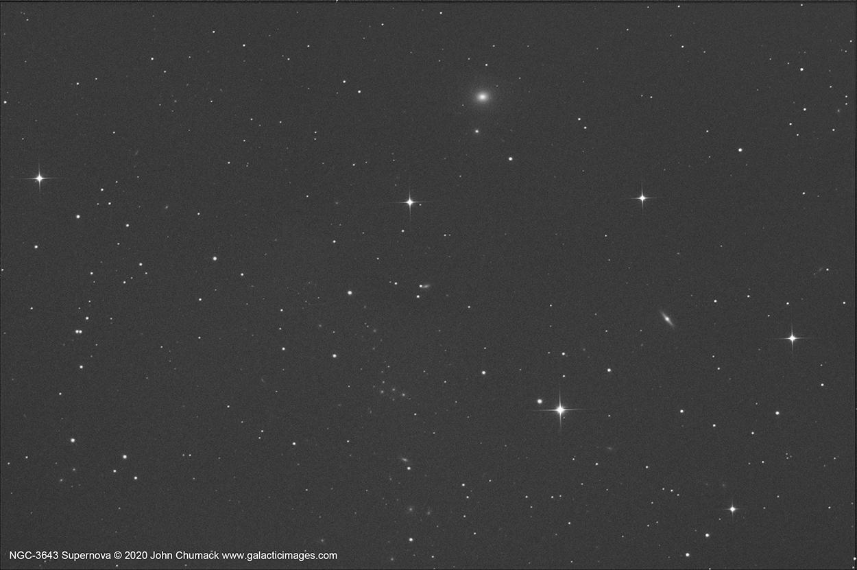 NGC-3643 with Supernova 2020-hvf