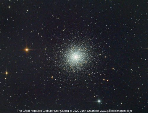 The Great Hercules Swarm – M13 Globular Cluster