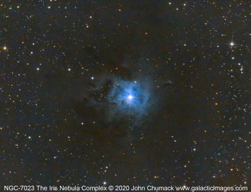 The Iris Nebula Complex in Cepheus