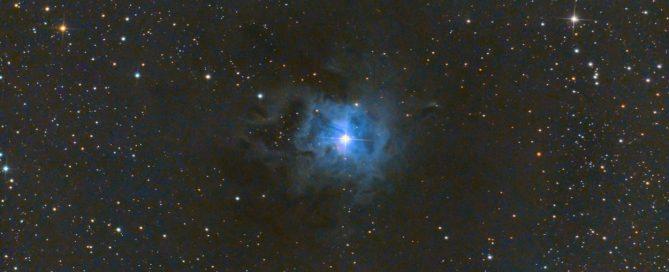 NGC-7023 The Iris Nebula Complex