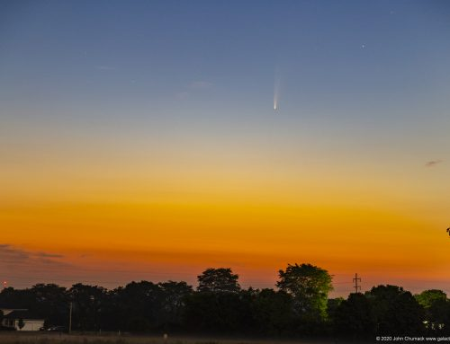 Comet NEOWISE in the Morning Sky!