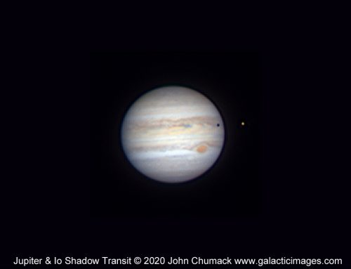 Jupiter & Io Shadow Transit 08-08-2020