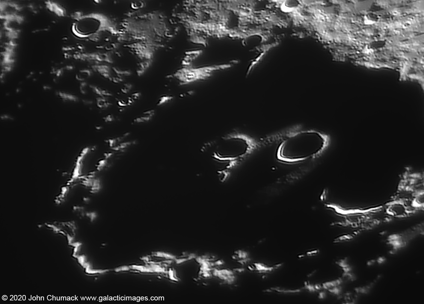 "Inside Clavius Shadow ""The Sunglasses"" or ""99"""