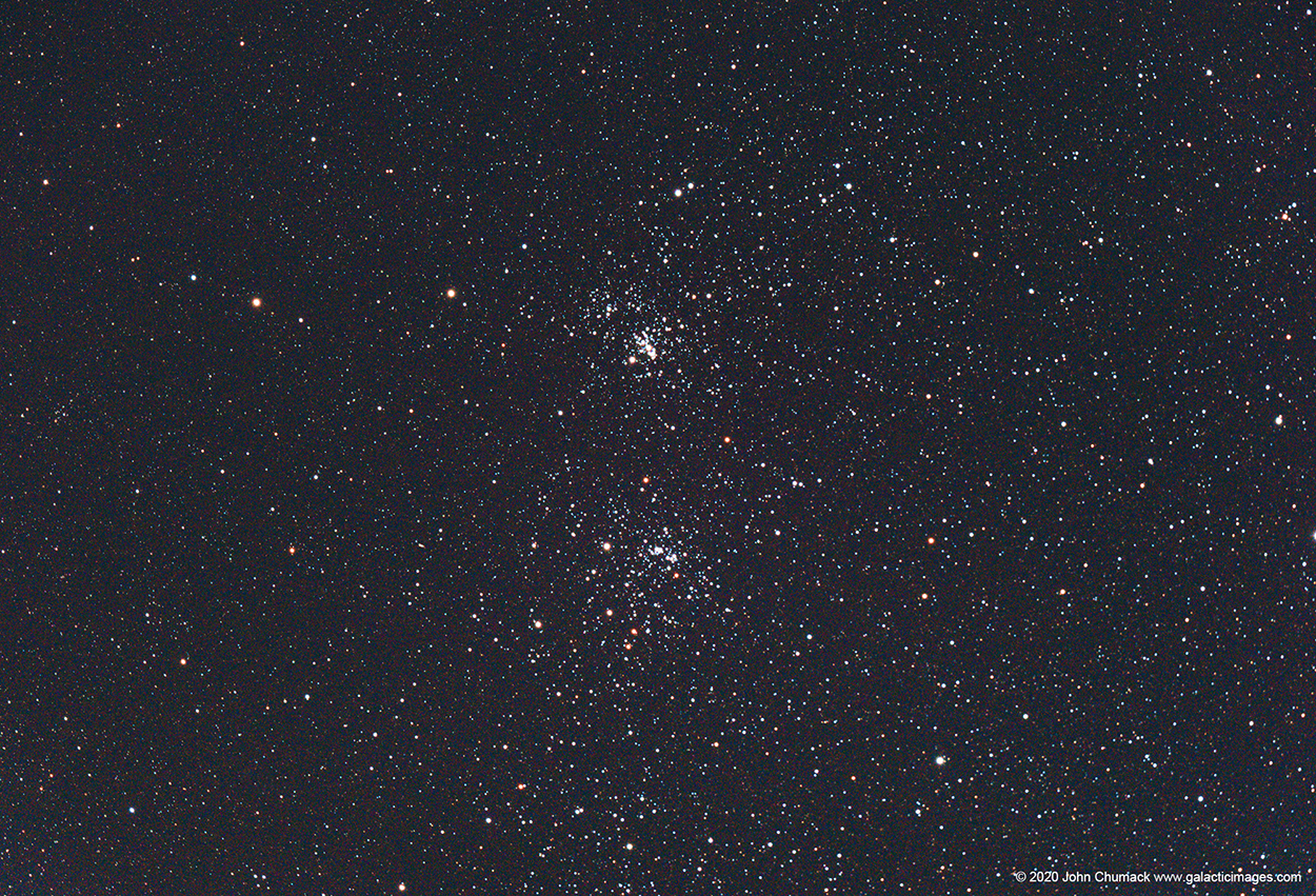 NGC-869 & NGC-884 The Double Cluster - Star Cluster in Perseus