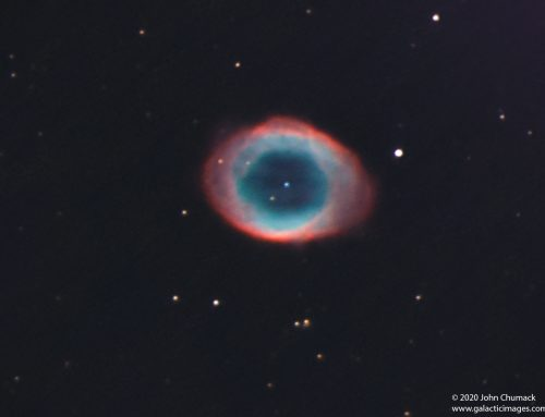 M57 The Ring Nebula – Extreme Close-up