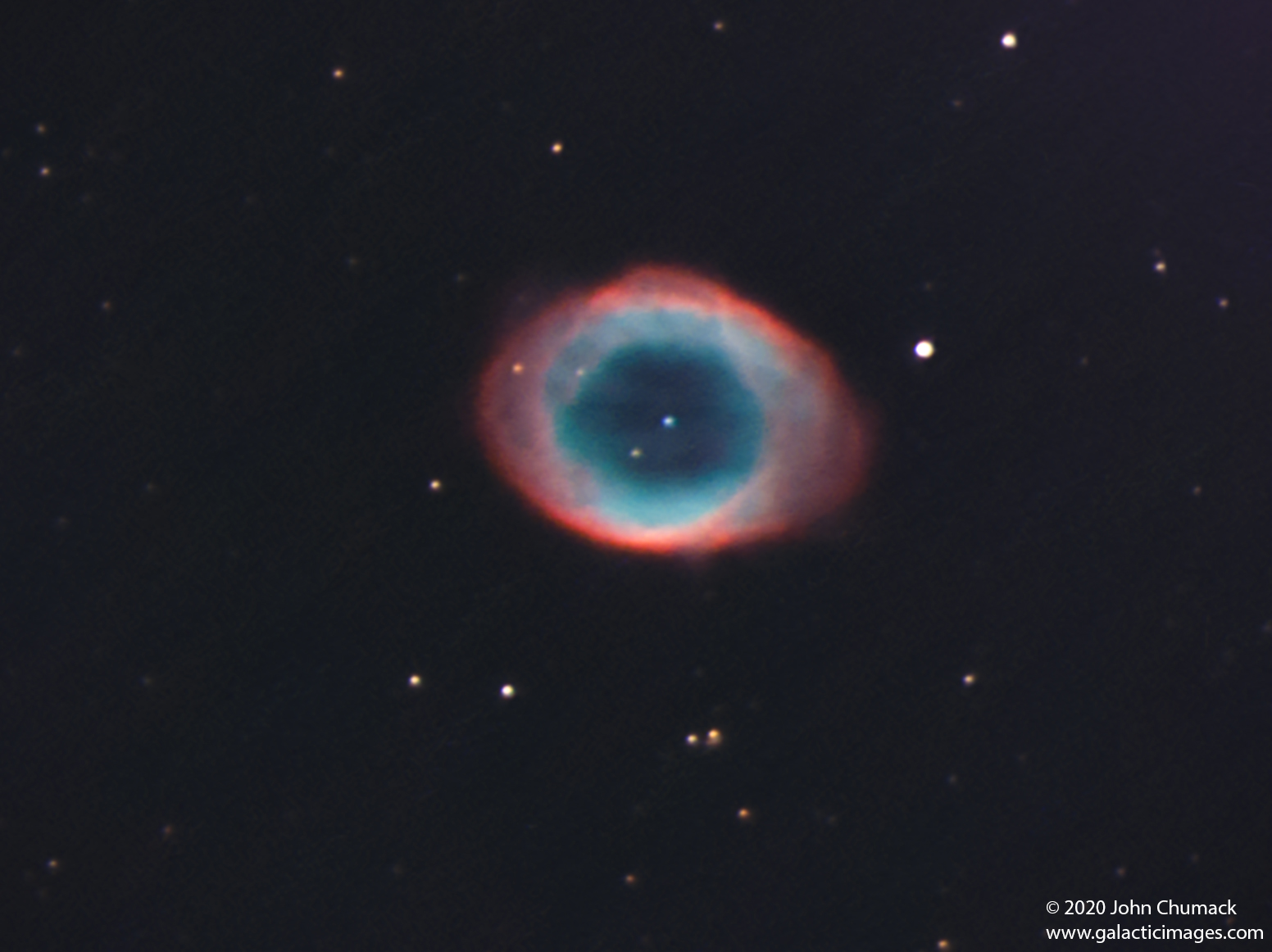 M57 The Ring Nebula - Planetary nebula - A Dying Star in Lyra