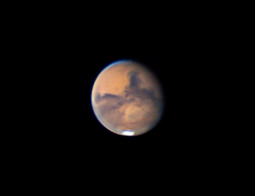 Mars and Martian Surface features on 09-06-2020