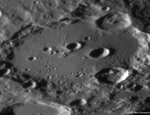 Clavius – Lunar Impact Crater – an extreme close-up 09-09-2020