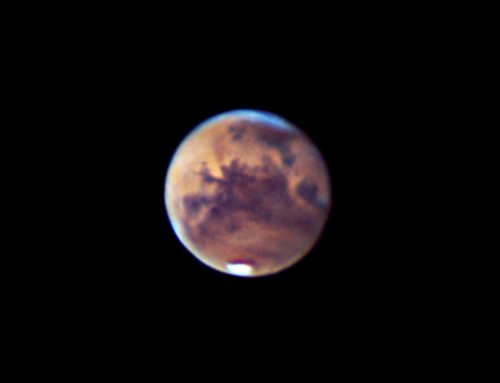 Mars  & Valles Marineris on 09-27-2020