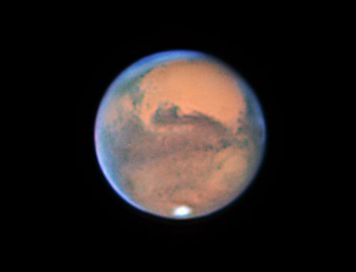The Planet Mars on 10-05-2020 Close approach to Earth