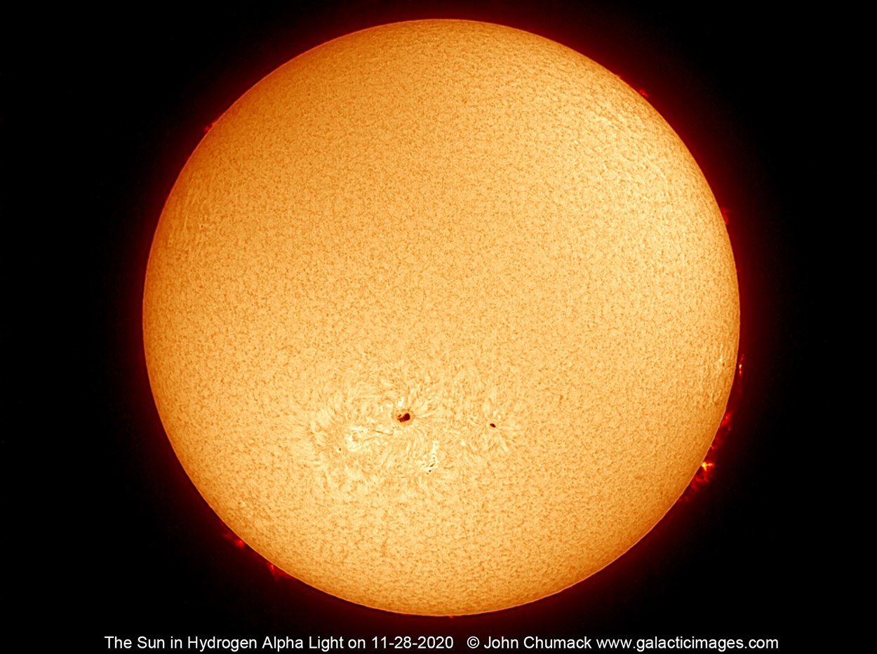 The Sun In Hydrogen Alpha Light