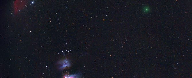 Comet Atlas C/ 2020 M3 swings past M42 Region