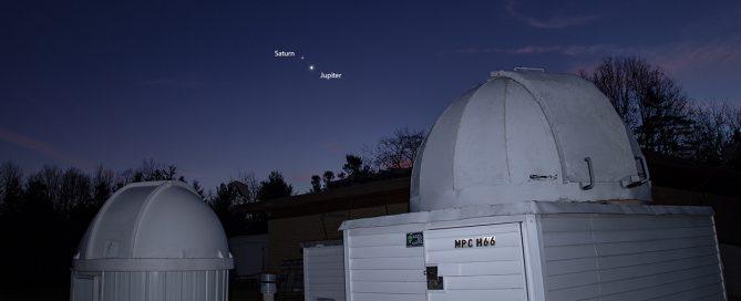 Jupiter & Saturn Conjunction