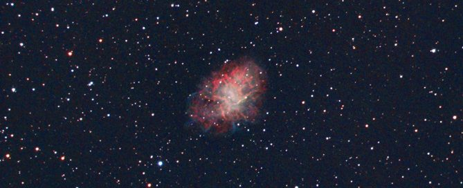 M1 The Crab Nebula - Pulsar