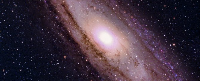 M31 The Core of the Andromeda Spiral Galaxy