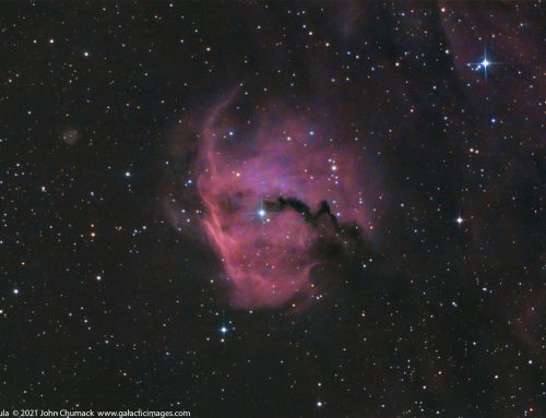 Gum 1 – The Head of the Seagull Nebula Complex