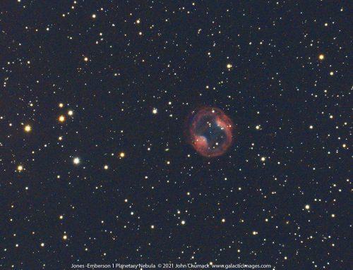 Jones-Emberson 1, or PK164+31.1, The Headphone Nebula