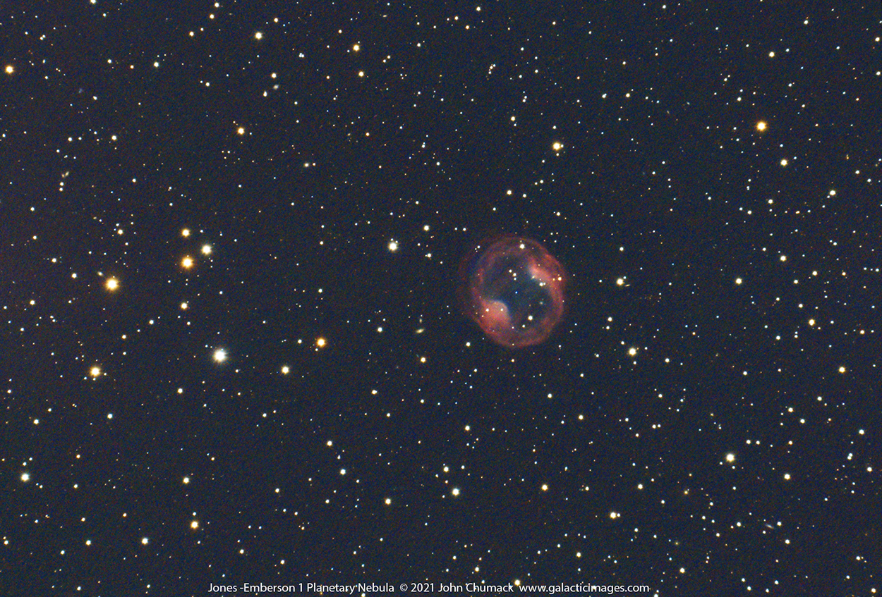 Jones Emberson 1, or PK164+31.1, Headphones nebula