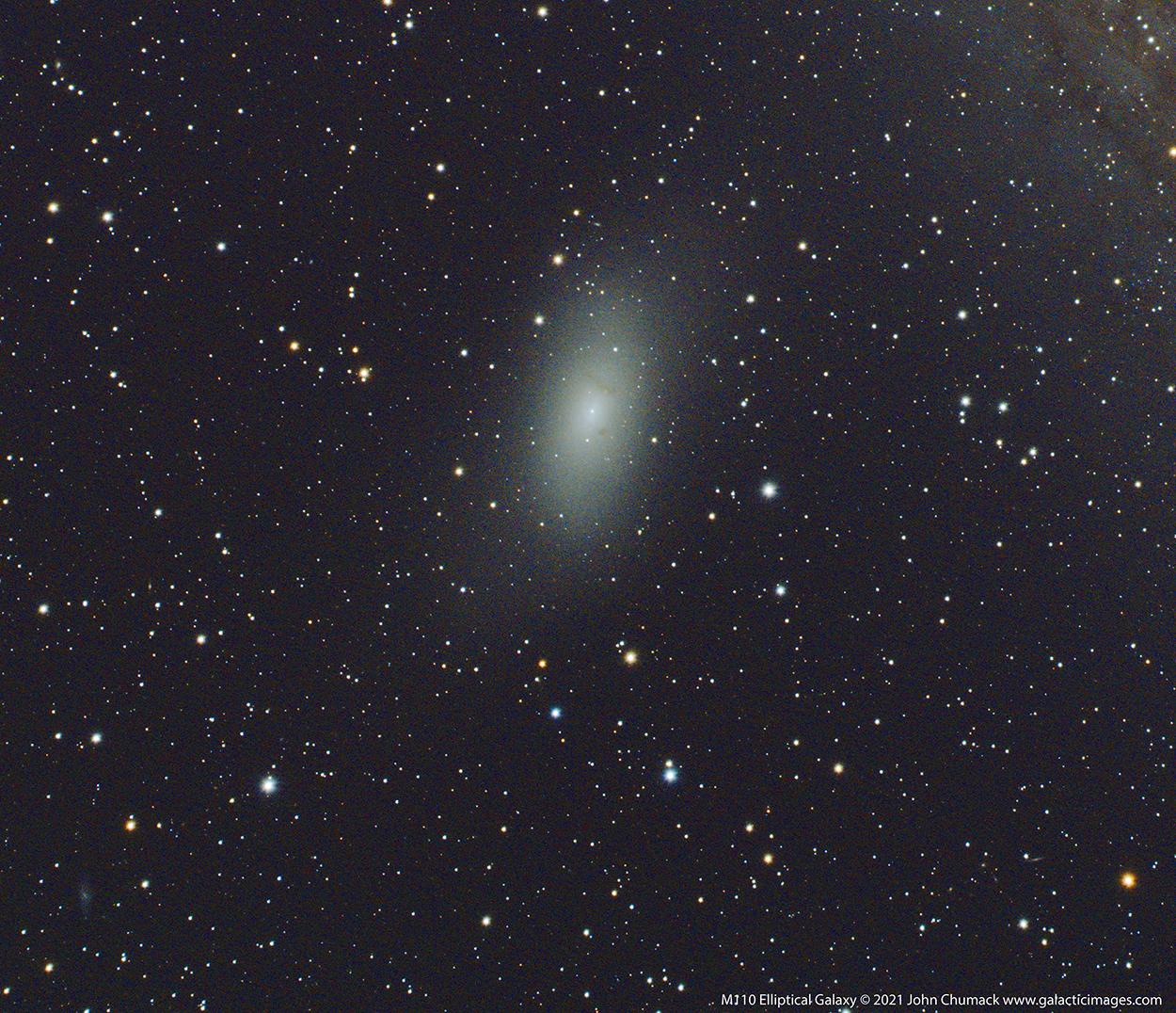 M110 Andromeda Elliptical Galaxy