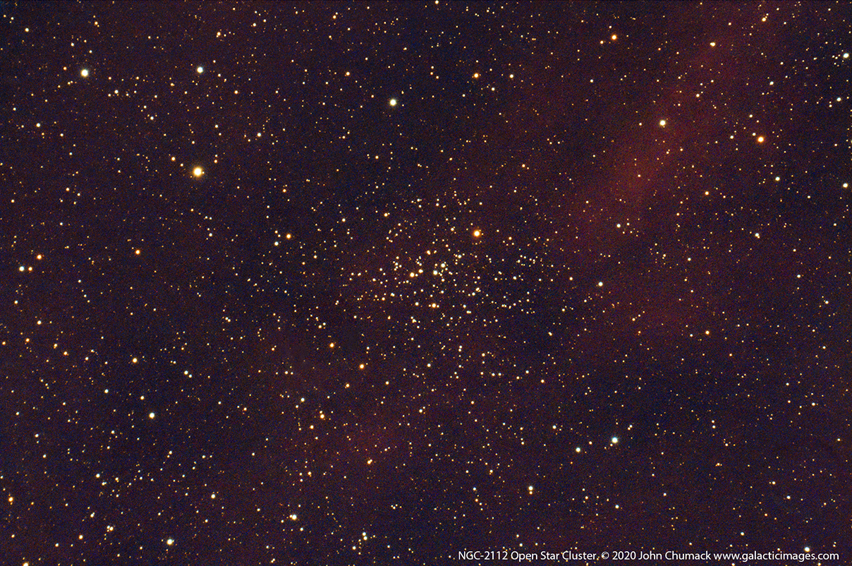 NGC-2112 Open Star Cluster