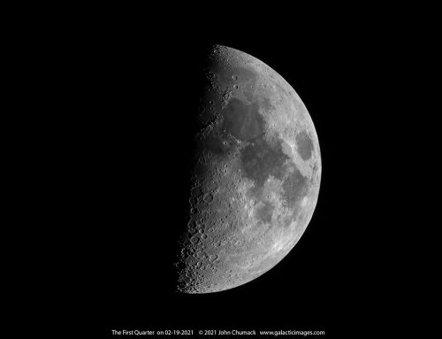The First Quarter Moon 02-19-2021