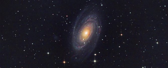Messier 81 (also known as NGC 3031 or Bode's Galaxy)